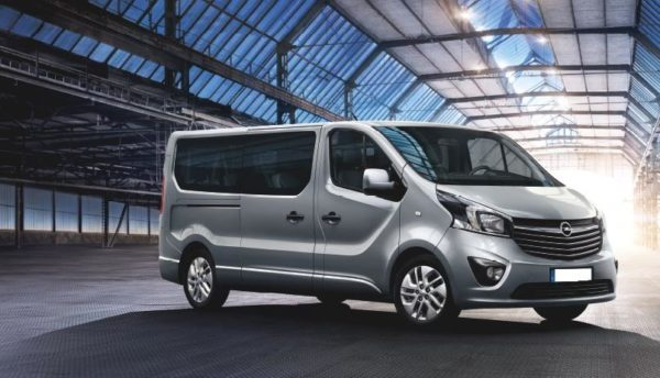 Opel Vivaro 2017 by Eden Rent a Car